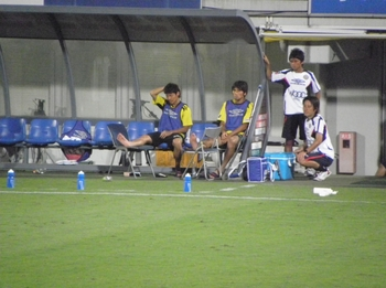 大谷選手と古賀選手