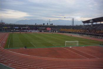 富山県総合運動公園陸上競技場