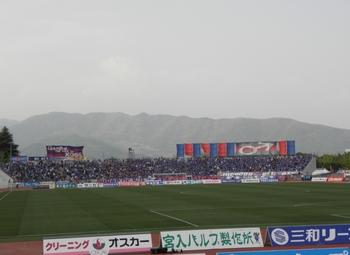 小瀬スポーツ公園陸上競技場